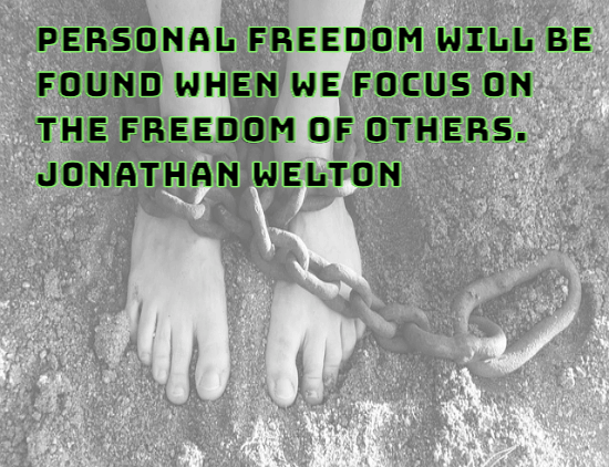personal freedom - jonathan welton