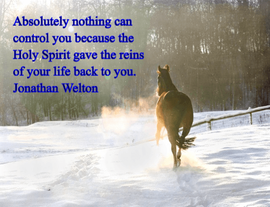 nothing can control you - jonathan welton