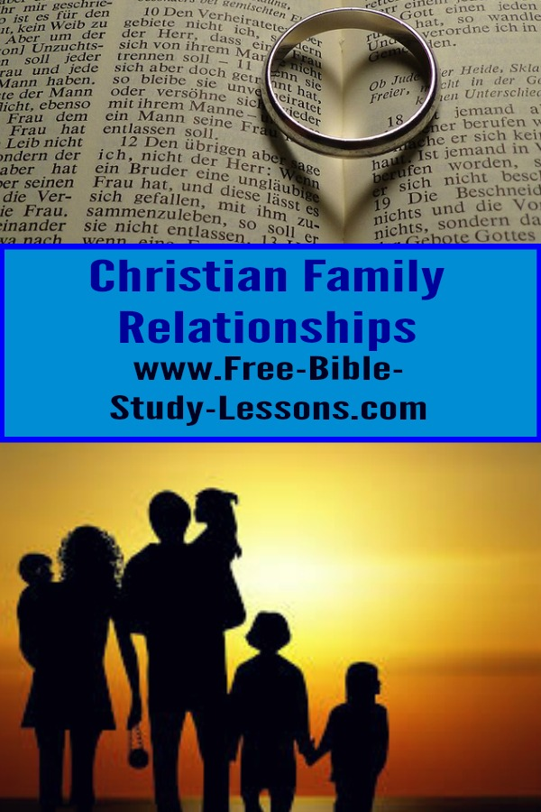 Articles on the Biblical way of dealing with various interpersonal relationships: role of husband/wife, marriage, divorce, sex, etc.