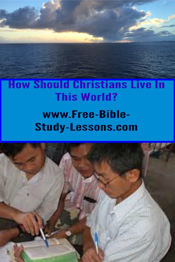 How does God expect Christian in live in this world?  What does the Bible teach about the issues we face?  Explore this growing list of articles. #christianlife #christiranity #Scriptures
