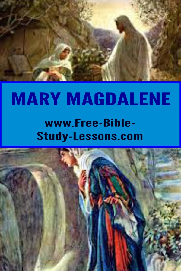 Mary Magdalene was a disciple of Jesus Christ out of whom Jesus had cast out seven demons.  She became the first witness of the resurrection.  #resurrection #womenoftheBible #women #bible