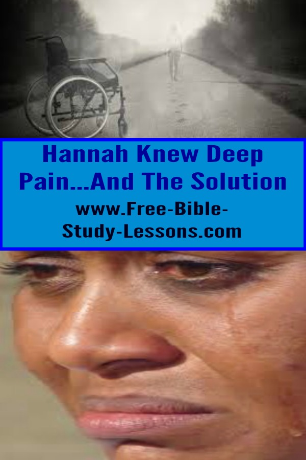 Hannah experienced deep anguish and yet she knew how to handle it.  She did not let her torment drive her from God but to God.  #pain #family #suffering #marriage
