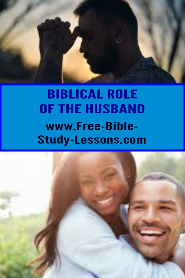 What is a Biblical husband like?  What are his responsibilities before God and his wife and family?  Lets look at the Scriptures.  #husband #family #christianlife #marriage