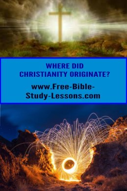 Where did Christianity originate?  Did it start 2,000 years ago or are its beginnings much further back? #christianity #biblicalstudies #Godslove #Jesus