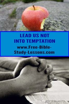 What does the Lord's Prayer mean with the request about temptation?  Would God really do that to us?  Does it contradict James? #temptation #lordsprayer #christianvictory #christianlife