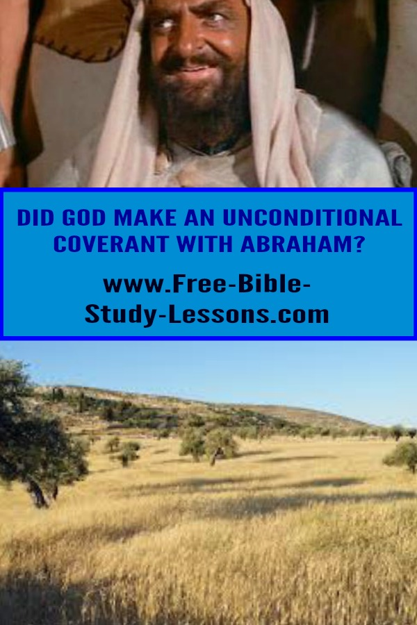 God made an everlasting covenant with Abraham.  Was it unconditional?  If not, what were the conditions to gain and keep the land.