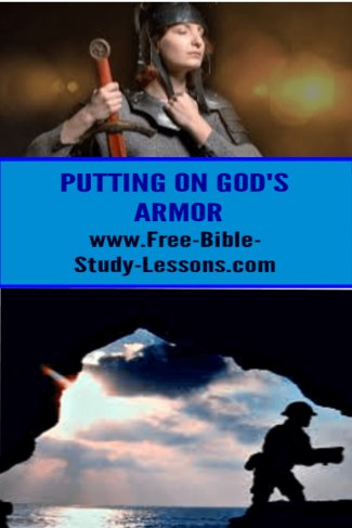 Our victory rests in fight battles God's way, with God's armor and weapons.