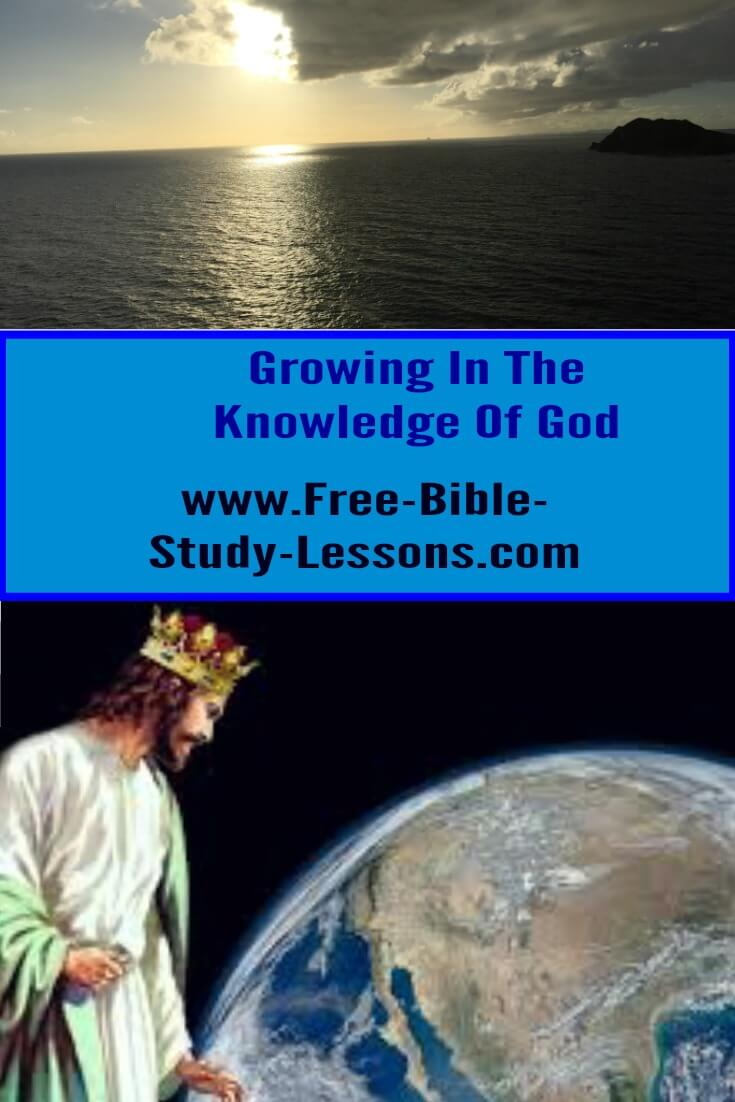 Free Bible Study Lessons is an opportunity to grow your life in Christ through the study of His Word.