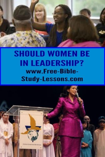 Women in leadership in a hotly debated subject.  What does the Bible teach?