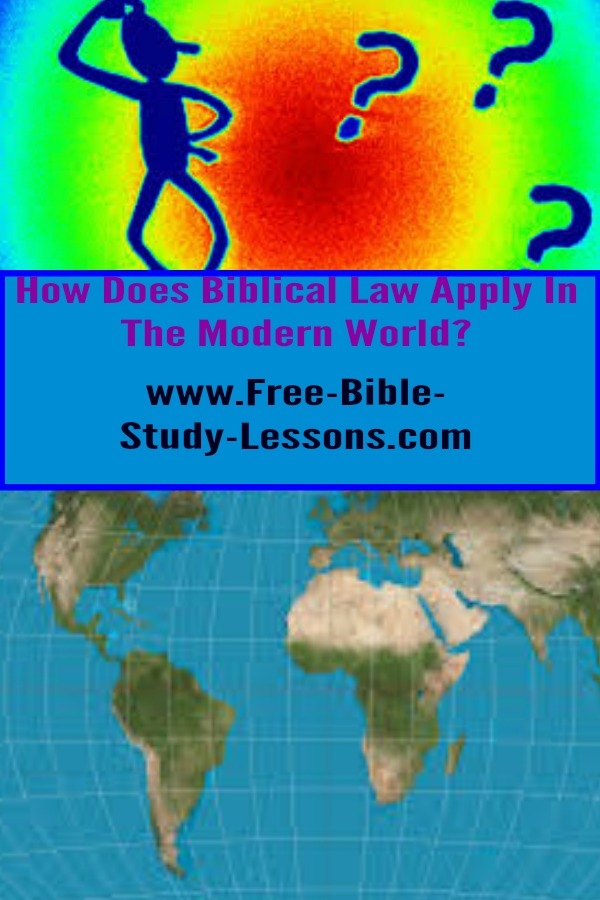 Christian Social Theory applies Biblical Law to our current world.