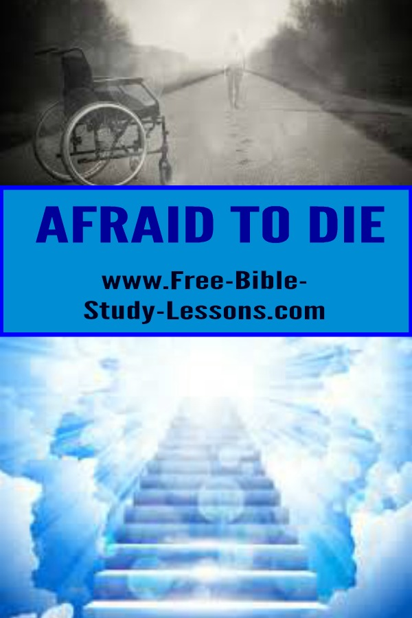 Are you afraid to die or afraid of getting old?  Learn the Truth about it.