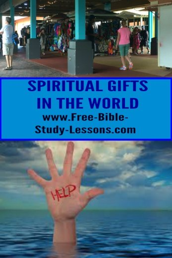 Spiritual Gifts are given by the Holy Spirit to minister to both those inside and outside the Church.