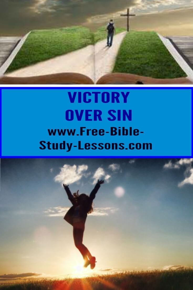 Victory of sin is part of the children's bread.  We need to implement what Christ has won for us.