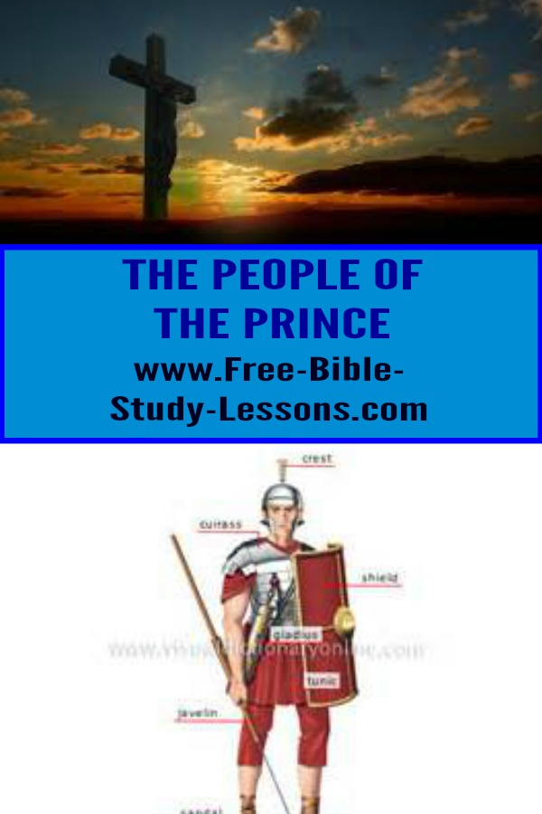 The Bible talks about the people of the prince.  Who are they really?