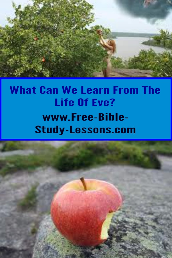 Adam and Eve were to be partners in managing and developing the world under God...but then it went terribly wrong.