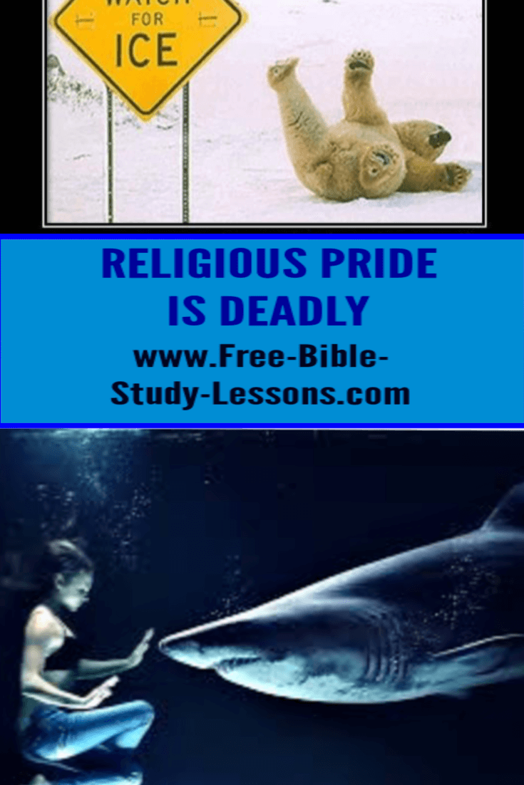 Religious pride is so devious that those infected by it think they are doing good when they are doing evil.