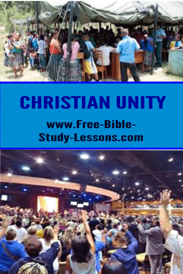 We do not have to agree on everything in order to walk in unity with our Christian brothers and sisters.