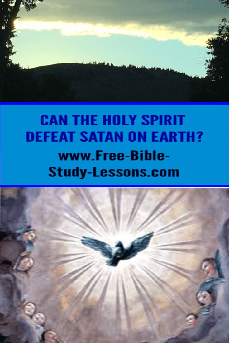 The Kingdom of Heaven is to be manifest on earth and the will of the King is to be enforced.  Can the Holy Spirit make it happen?