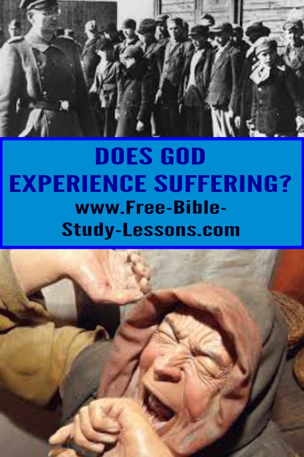 God the Father experiences suffering along with us.