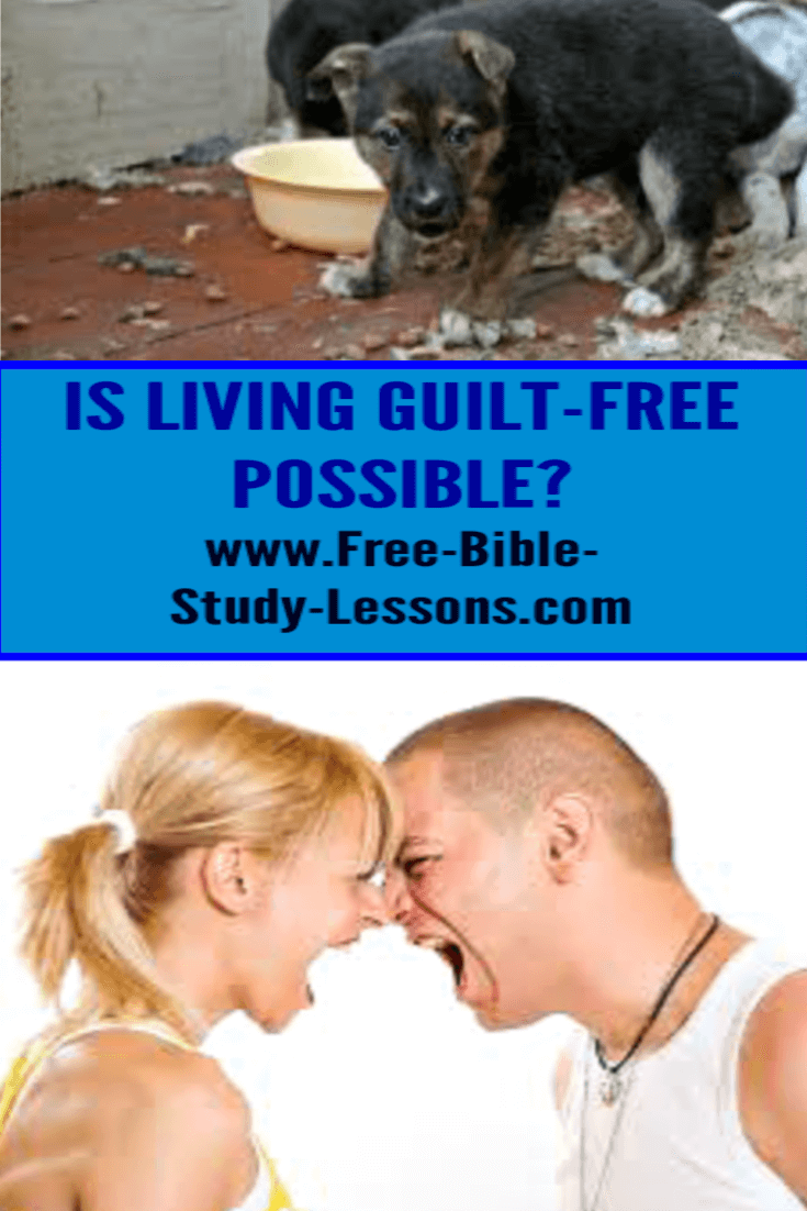 Feelings of guilt can destroy us, but we can learn how to receive true forgiveness and a new start.