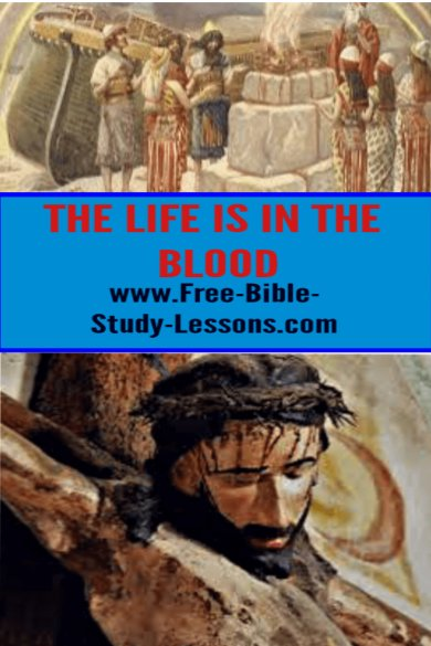 The life blood of Jesus was voluntarily poured out so we could have His life in us.