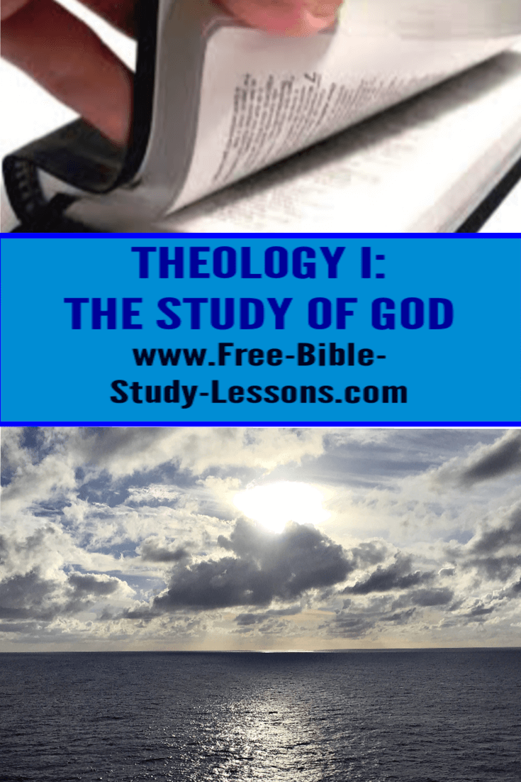 Theology I: The Study Of God is a free email course which begins our theology series on the basic beliefs of Christianity.  Know what you believe...and why,
