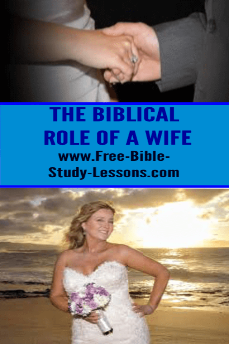 The wife has a vital role to plan in the plan of God for Christian marriage.