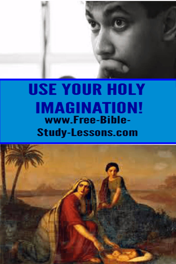 A holy imagination can be used for good while an evil imagination can have life-destroying effects.