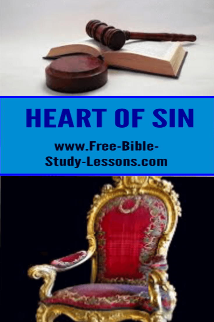 The heart of sin may disguise itself but it is always exposed by the desire to be our own God.