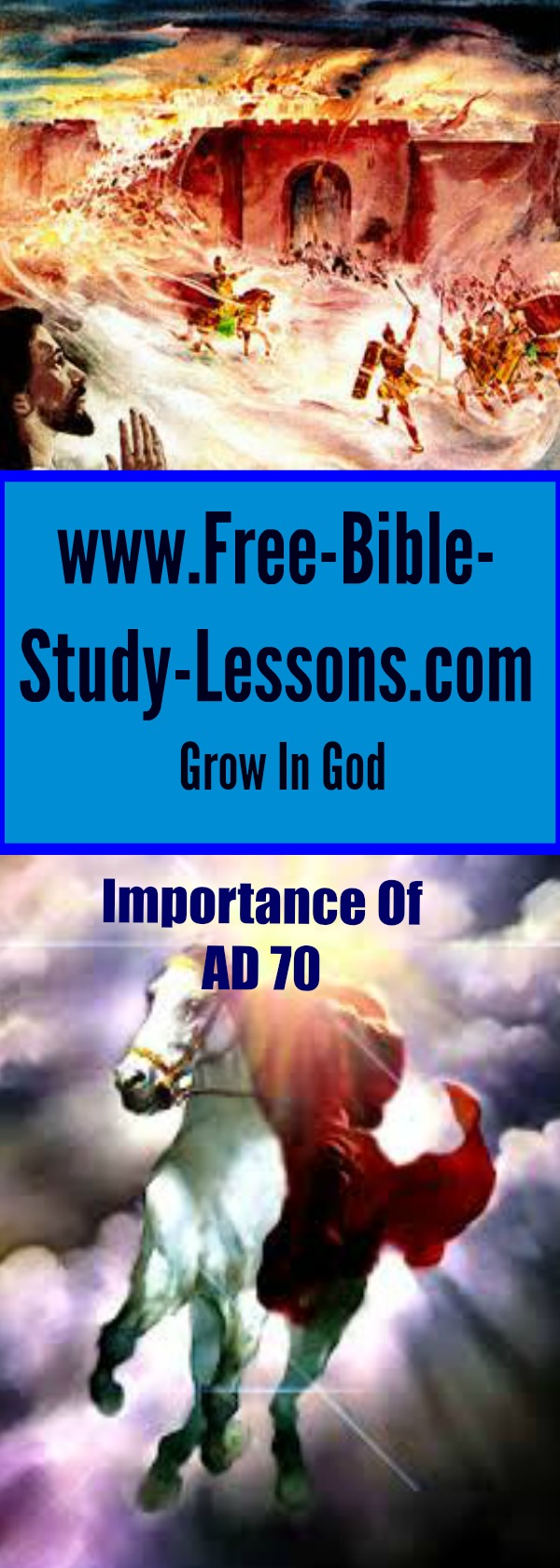 Understanding the importance of AD 70 sheds light on confusing New Testament Scriptures and gives a fuller understanding of the context in which the New Testament was written.
