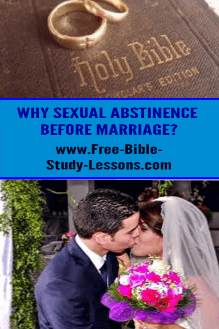 Sexual abstinence before marriage is one of the key foundation stones to a happy, healthy, life-long marriage.
