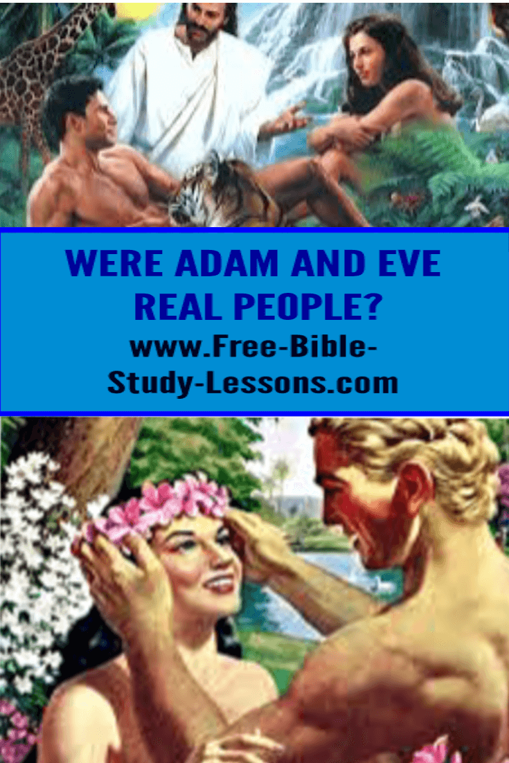 Adam and Eve were real people and the Book of Genesis gives Christianity its foundation.