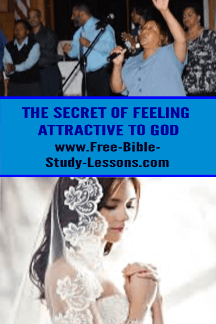 Discover the secret of being attractive to God.   See yourself with new eyes.