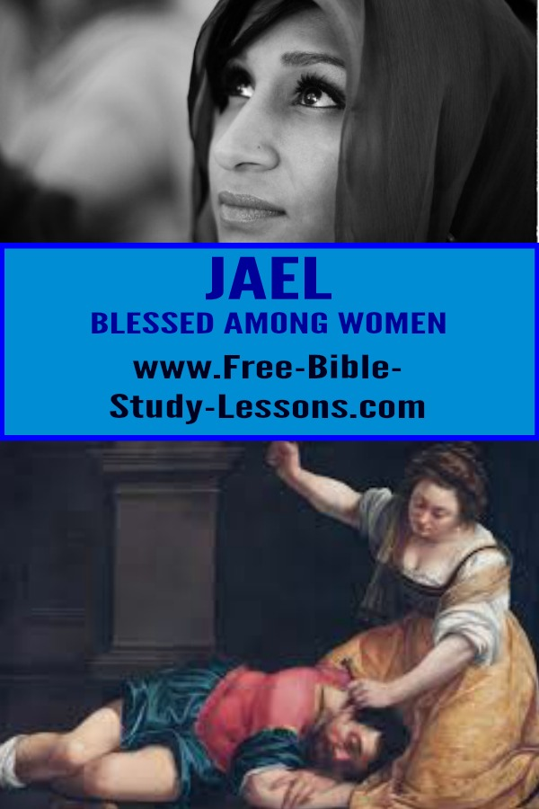 Jael - who killed a man and Mary -the mother of Jesus- are both called blessed.