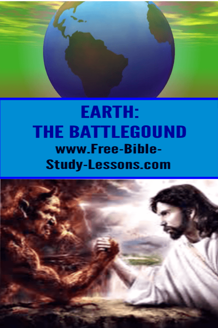 Earth is the battleground between the forces of Jesus and satan.  Prayer is how we open the doorway for Jesus to work.