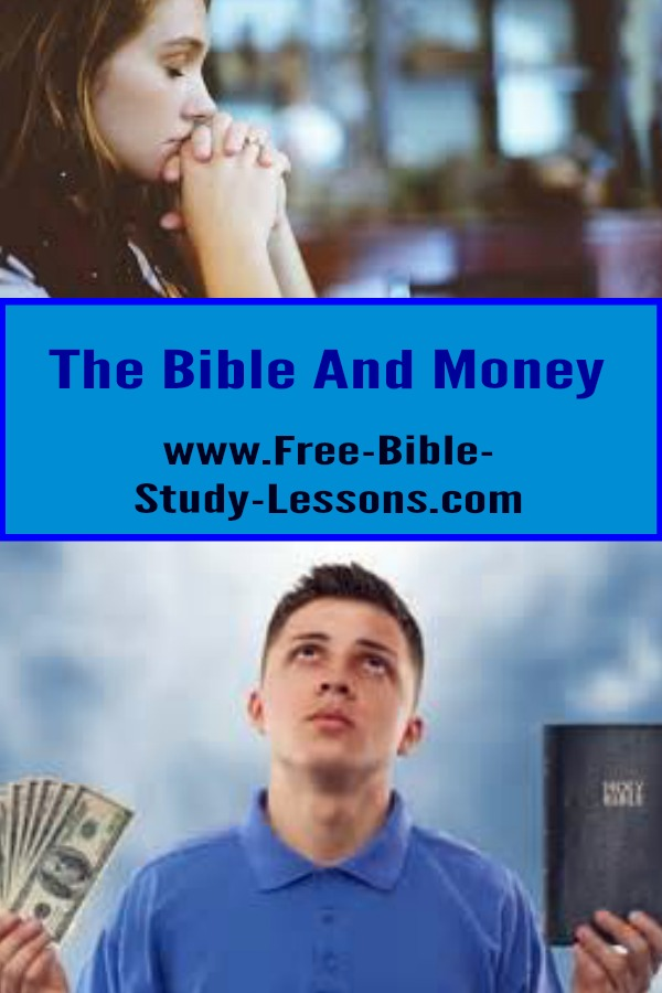Here we look at Christian Bible lessons on how God expects us to manage the money He loans us.
