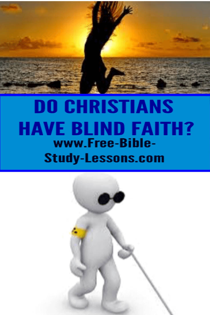 Christians and atheists both operate on faith, but which really had blind faith?