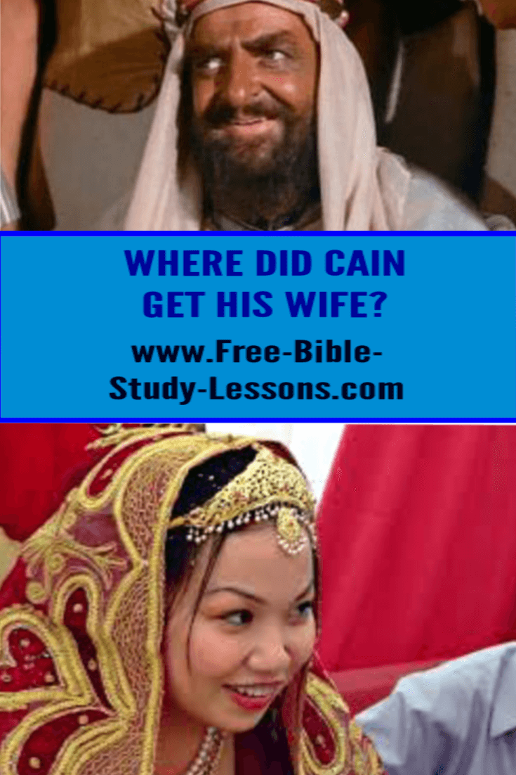 Where did Cain get his wife and other questions have stumped Christians who have not thought through the things they believe and their implications.