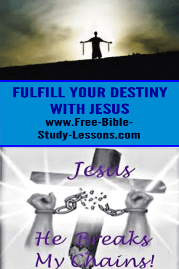 Fulfill your destiny with the Christian life religion.  Learn to know the God Who loved you enough to die for you.