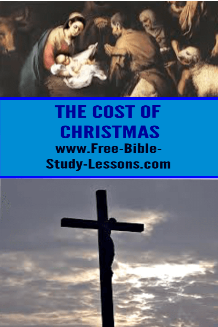 Many times we do not consider the true cost of Christmas.