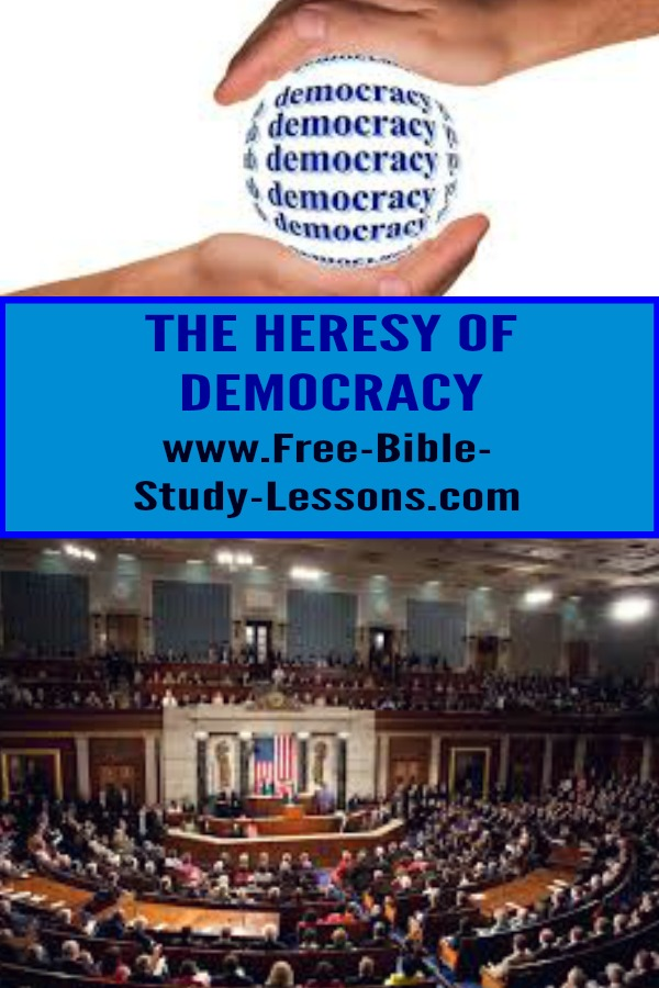 Is democracy found in the Bible?  Where does Governmental authority come from?