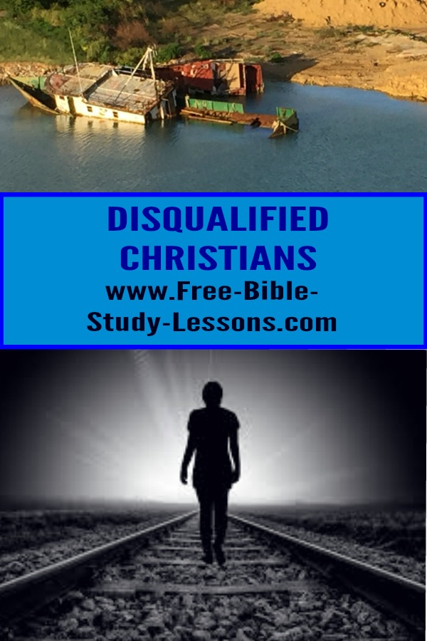Paul warns us that we can become disqualified Christians and shipwreck our lives.  What do we have to watch out for?  #christianlife #heaven #purposeinlife #christianity