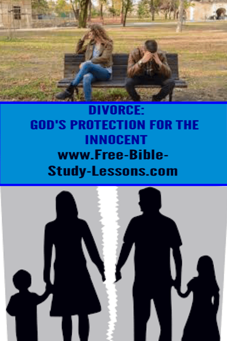 Divorce is God's method of protecting an innocent person from an abuser.