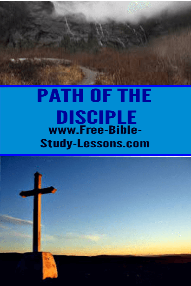 The path of the disciple is to follow in the footsteps of the Master, Jesus Christ.