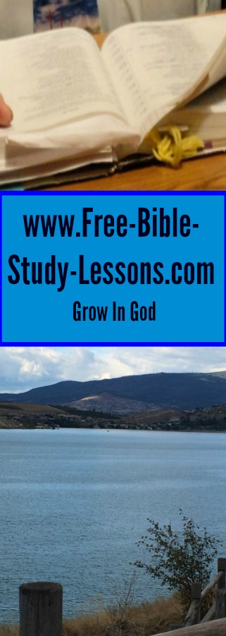 Free Bible Study Lessons offers articles and email courses on everything from who Jesus is to how to live a successful Christian life.