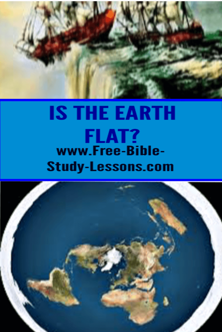 Some people believe that the earth is flat.