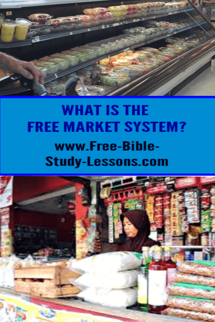 A Biblical Free Market system brings the greatest amount of freedom and prosperity to the greatest amount of people.