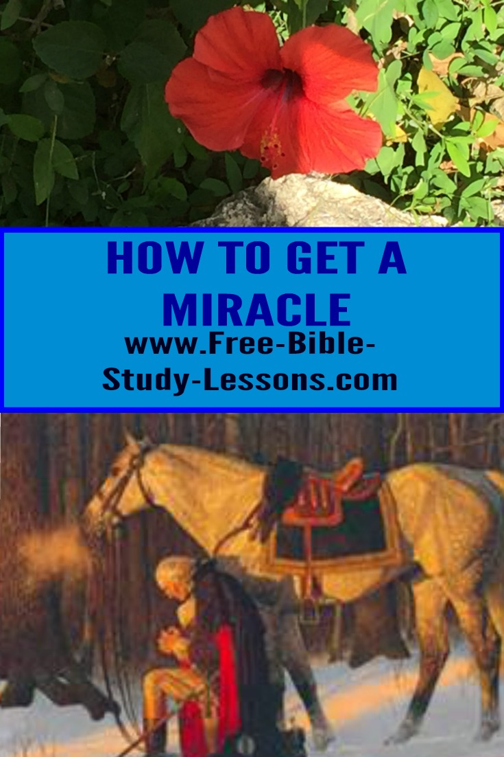 Blind Bartimaeus teaches us how to receive a miracle by his actions.  He was an amazing man of faith. #miracle #faith #healing #Jesus