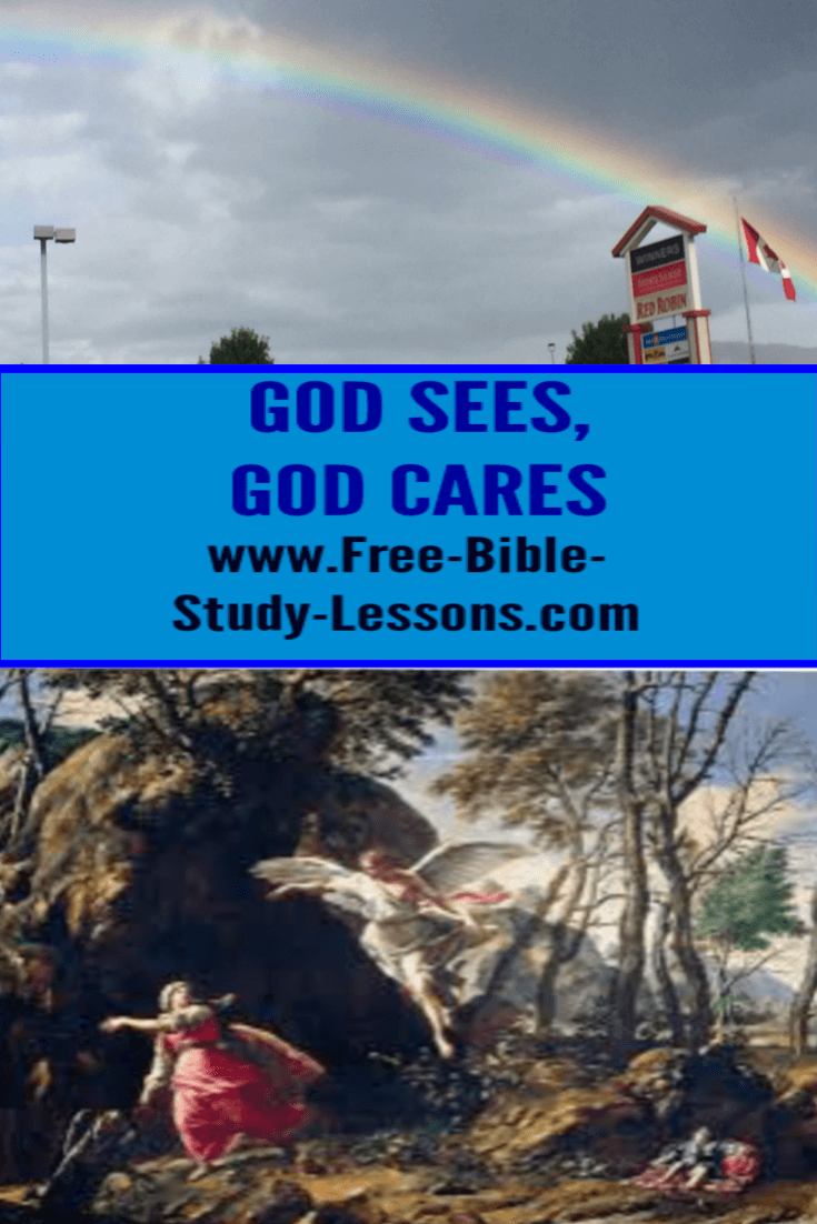Hagar learned the God sees and God cares even when we are the cause of our own problems.