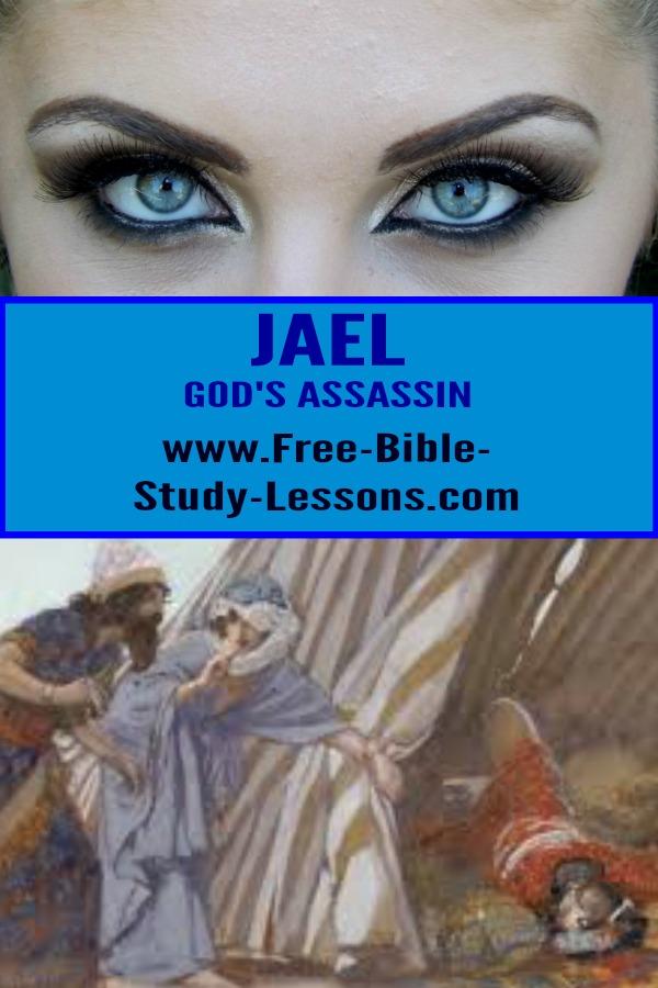 Jael killed a man to rid Israel of a deadly enemy.  Was it murder?  How could Jael kill a defenceless sleeping man?  #Jael #killinginwar #biblicallaw #biblicalwomen
